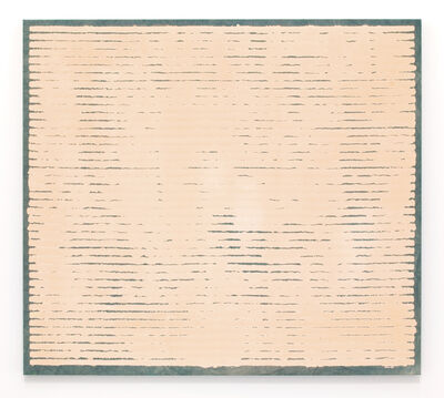 Allan McCollum, 'Untitled (Bleach Painting)', 1970