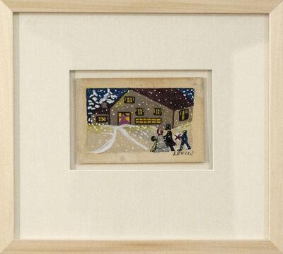 Maud Lewis, 'Christmas Card', Mid-20th Century