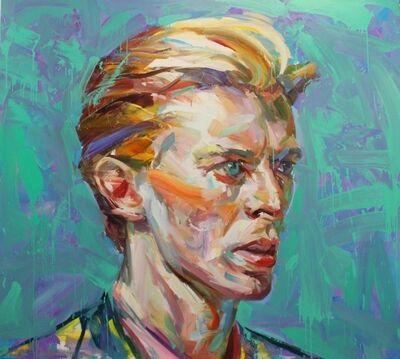 Paul Wright, 'Green Bowie ', 2017