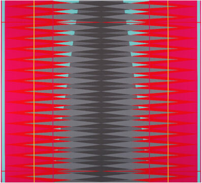 Pablo Griss, 'INTERVENTION Magenta. Red. Yellow.', 2013