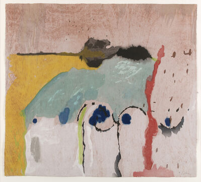 Helen Frankenthaler, 'Tales of Genji I (only sold as part of the complete suite of six woodcuts)', 1998