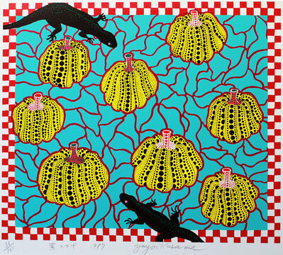 Yayoi Kusama, 'Black Lizards', 1989