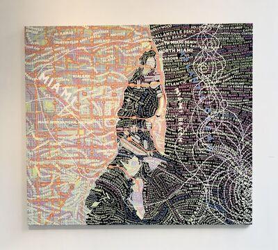 Paula Scher, 'Miami/Maria', 2020