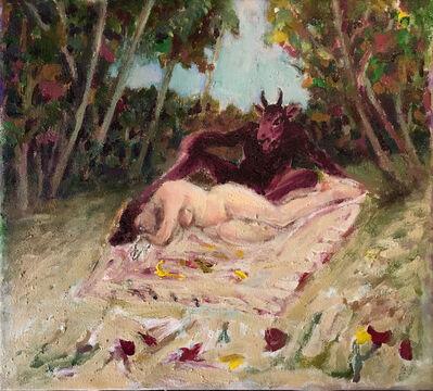 Asad Azi, 'Nude I', 2016