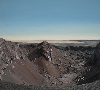 Michael Brophy, 'Lava Field Crater', 2017