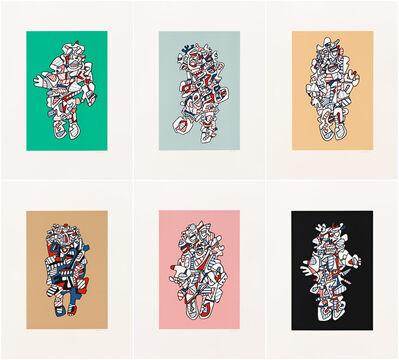 Jean Dubuffet, 'Présences Fugaces: a Portfolio', 1973
