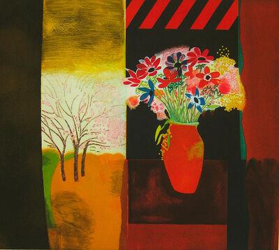 Walter Bachinski, 'Anemones in Vase', 1998