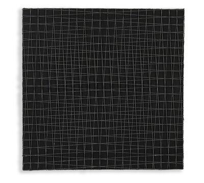 François Morellet, '2 trames de grillage -4° +4°', 1975