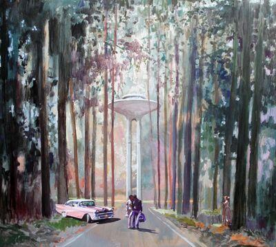 Jorge Hernández, 'El bosque', 2017