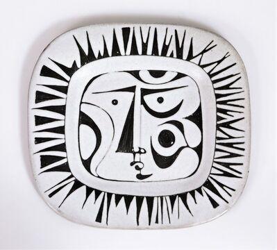 Jacques Pouchain (1925-2015), 'Visage Soleil', ca. 1950