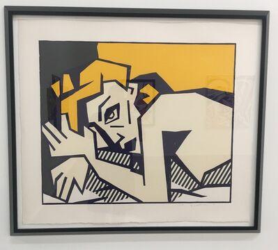 Roy Lichtenstein, 'Reclining Nude', 1980