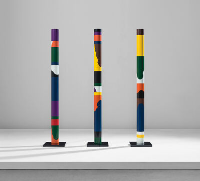 Guy de Rougemont, 'Three totems', 1976