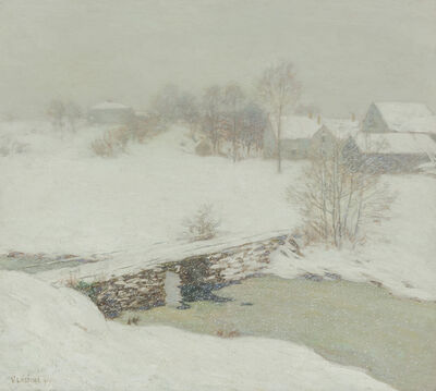 Willard Leroy Metcalf, 'The White Mantle', 1906