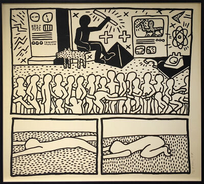 Keith Haring, 'The Blueprint Drawings 15', 1990