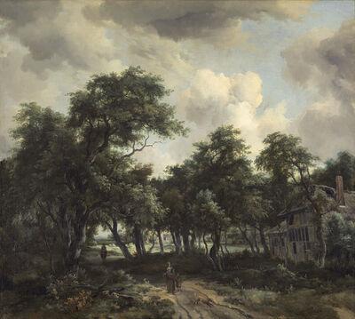 Meindert Hobbema, 'Hut among Trees', ca. 1664