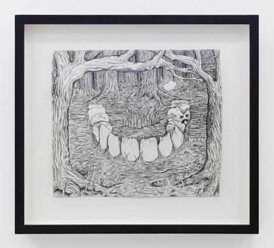 Trenton Doyle Hancock, 'Tooth Ring', 2001