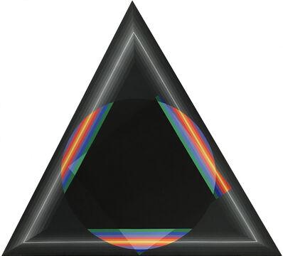 Horacio Garcia-Rossi, 'Couleur Lumière Triangle', 2010