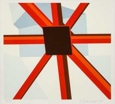 Allan D'Arcangelo, 'Squared Star', 1979