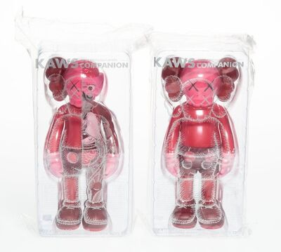 KAWS, 'Companion (Blush), set of two', 2016