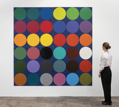 Poul Gernes, 'Untitled (Dot painting)', 1966