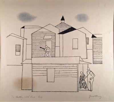 Robert Gwathmey, 'A SECTION', 1961