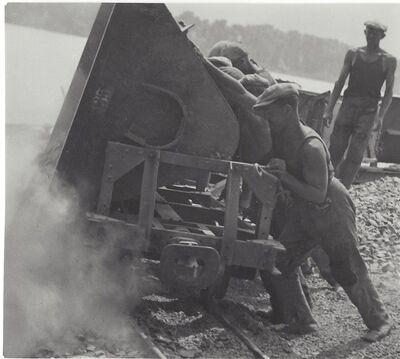 Imre Kinszki, 'Workers', ca. 1930