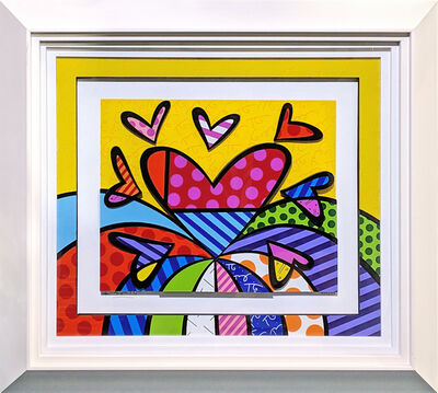 Romero Britto, 'I LOVE THIS LAND (3D MIXED MEDIA)', 2014
