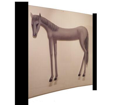 xie yi, 'White Horse '