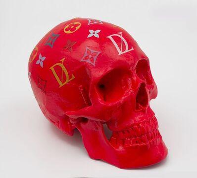 Zevs, 'LDV Skull (Red)', 2011