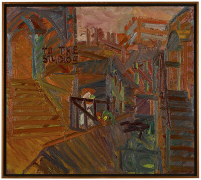 Frank Auerbach, 'To the Studios', 1977