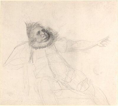 George Romney, 'John Henderson as Falstaff', ca. 1778/1780