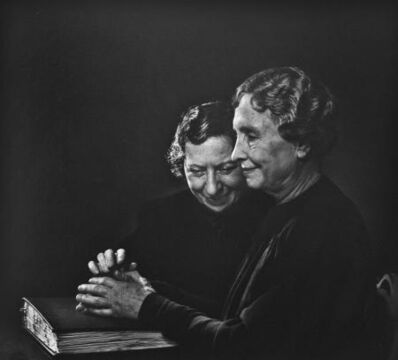 Yousuf Karsh, 'Helen Keller', 1948