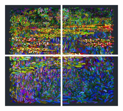 Francisco Bugallo, 'Monet as a pretext - Le Bassin des Nymphéas No. 3', 2014