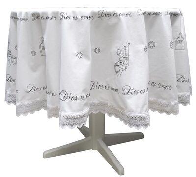 Danny Zavaleta, 'Embroidered Tablecloth [Mantel de mesa bordado]', 2008
