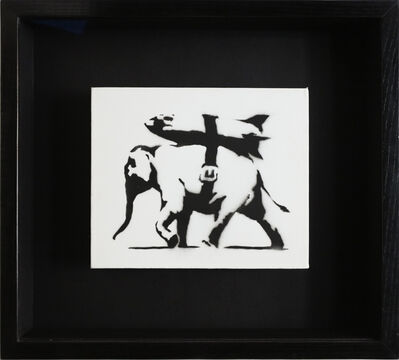 Banksy, 'Heavy Weaponry (unique character)', 2004