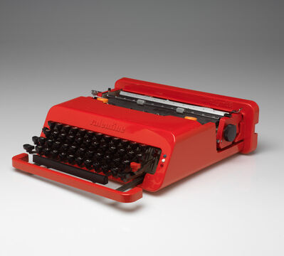 Ettore Sottsass, 'Valentine Portable Typewriter and Case', 1969