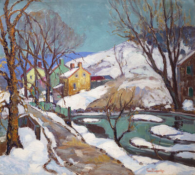 Fern Isabel Coppedge, 'Winter Along the Towpath', Date unknown.