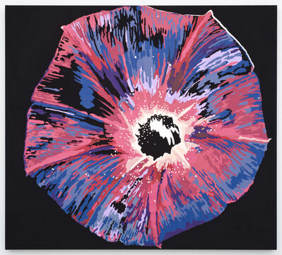 Francesca Gabbiani, 'Vortex Flower ( black hole)', 2016