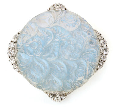 Tiffany & Company, 'Carved Moonstone and Diamond Brooch by Tiffany & Co.', ca. 1905