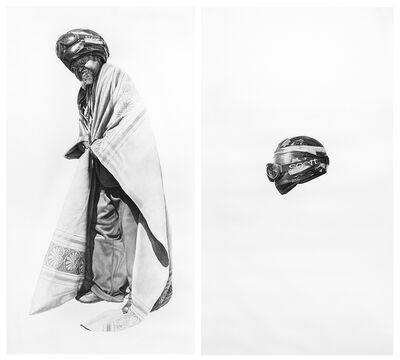 Joel Daniel Phillips, 'Spaceman #7 and Spaceman's Helmet', 2016