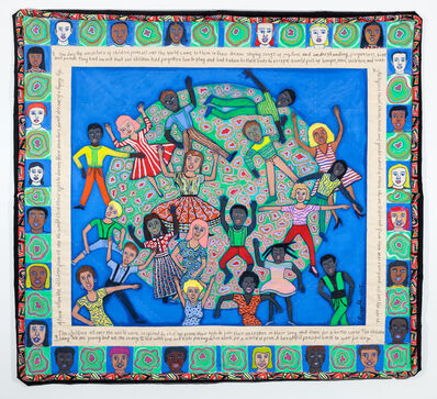 Faith Ringgold, 'Ancestor's Part II', 2017