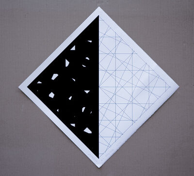 François Morellet, 'Senile Lines', 2007
