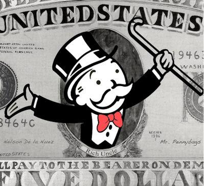 Nelson De La Nuez, 'Nelson De La Nuez, Monopoly Money', 2019
