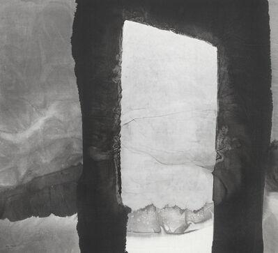 Gao Xingjian 高行健, 'Landscape Behind the Door', 2004