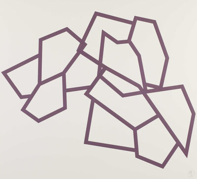 Richard Deacon, 'Bamako (32 Purple)', 2011-2012