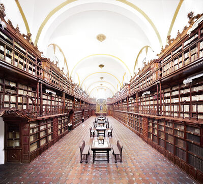 Candida Höfer, 'Biblioteca Palafoxiana Puebla II 2015', 2015