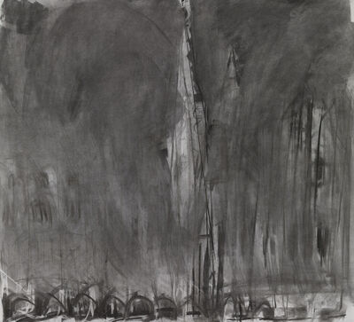 Dennis Creffield, 'Norwich Cathedral', 1988