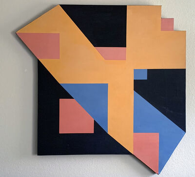 Clifford Singer, 'Logarithmic Painting', 1973