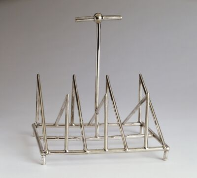 Christopher Dresser, 'Toast Rack', c. 1879