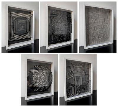 Victor Vasarely, 'Cinetiques portfolio', 1973